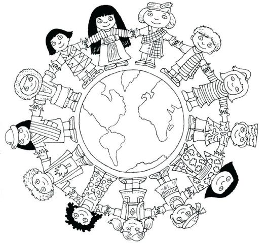 Kleurplaten Pasen Knutselen.Kinderwoorddienst Knutselen Wereld Met En Zonder Eenheid